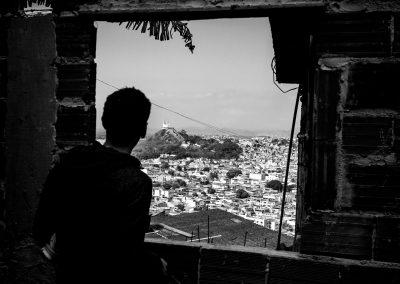 Vis‹o do Complexo da Penha, no Rio de Janeiro. FOTO: LUCAS UEBEL