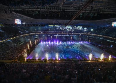 Inauguracao Arena