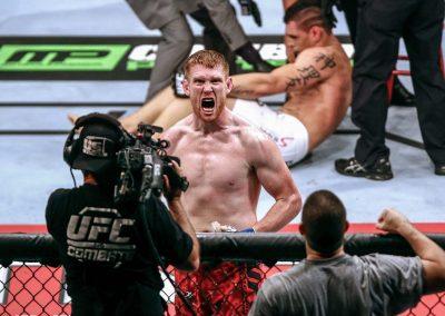 Luta do UFC em Porto Alegre. FOTO: LUCAS UEBEL