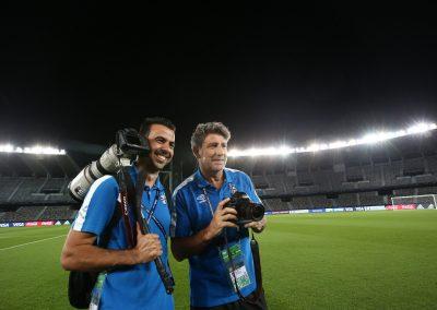 Com Renato Portaluppi no Mundial de Clubes 2017